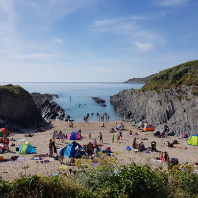 Barricane Beach, Devon