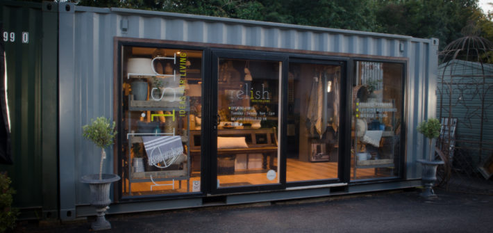 Relish Lifestyle Store in the courtyard at Stokeley Farm Shop