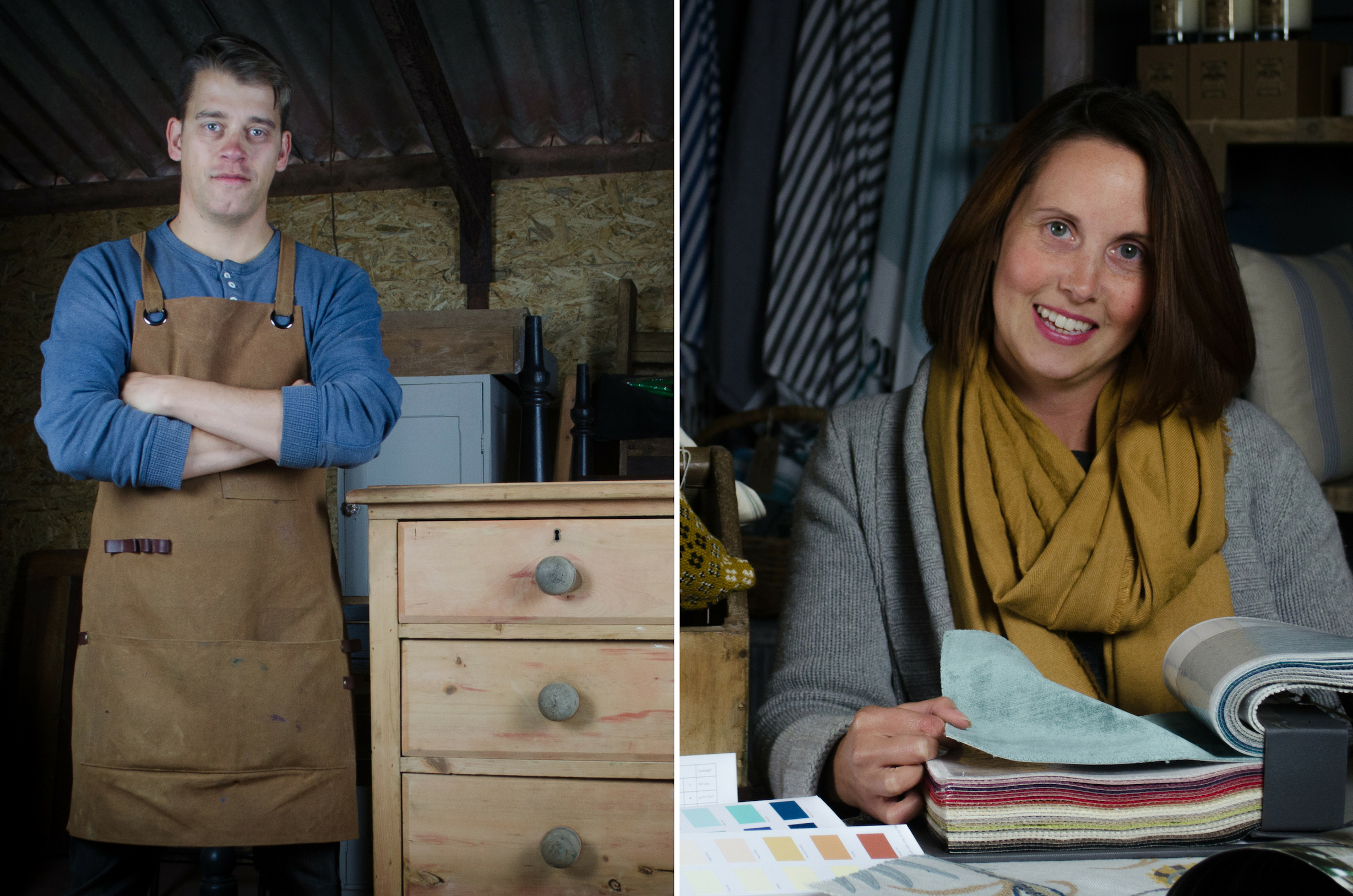 Amy and Shaun, owners and founders of Relish Lifestyle Store